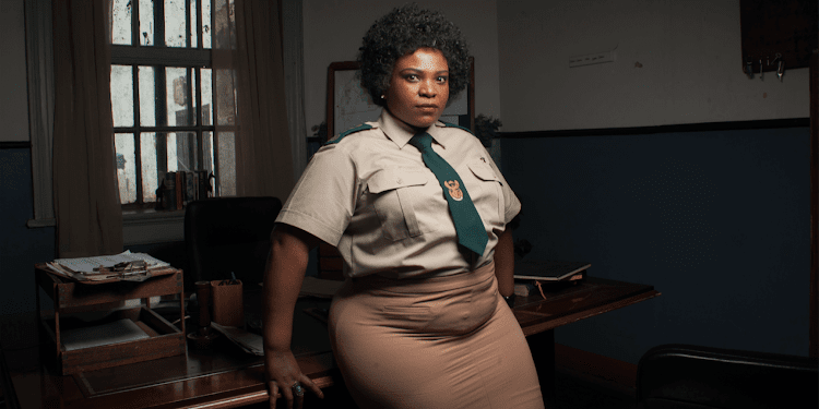 Slindile Nodangala plays the role of Beauty on the hit drama series Lockdown.
