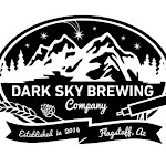 Logo of Dark Sky Stumbling Buddha Brown