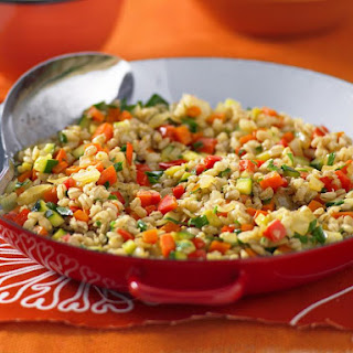 Barley and Vegetable Pilaf.