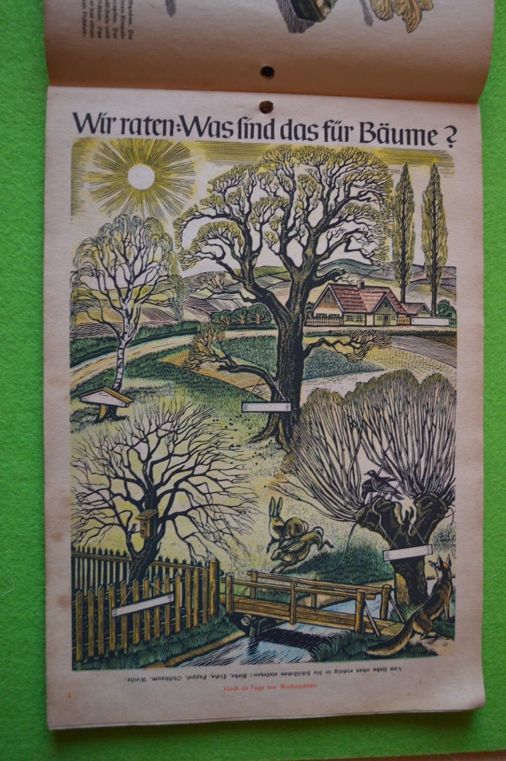 Adventskalender 1942 / 1943 – 4. Dezember