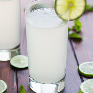 Skinny Ginger Lime Soda