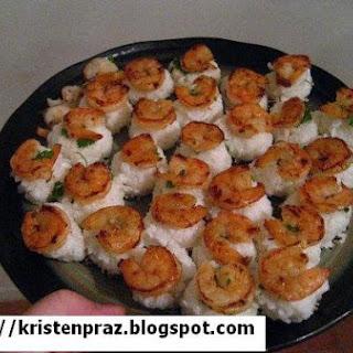 Coconut Rice Shrimp Balls Recipe