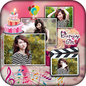 Birthday photo video maker