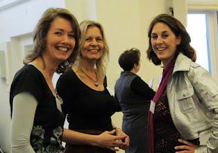 Photo: De organisatoren van de Secretaresse Groeidag 1 november 2011. Nathalie Scholtes, Petra Fehring en Ingrid Geul