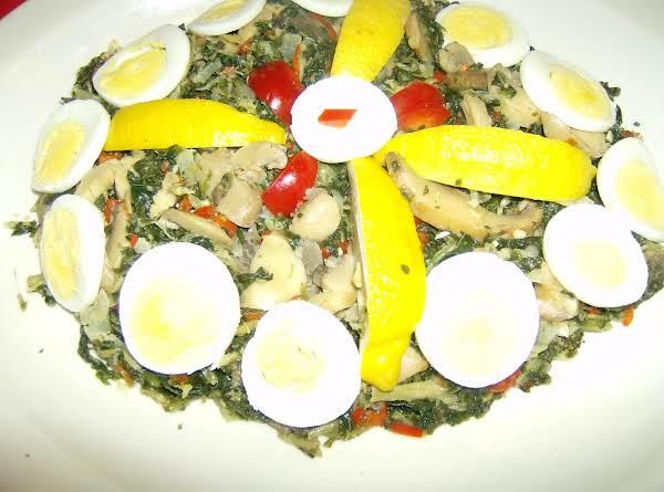 Lemon Kale Saute' Recipe