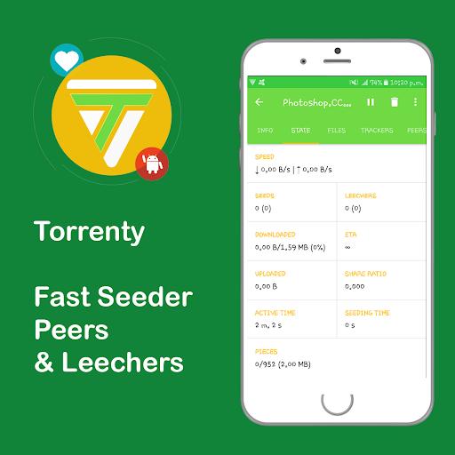 Torrenty-Torrent Pro Client BitTorrent Downloader 2.0. screenshots 8