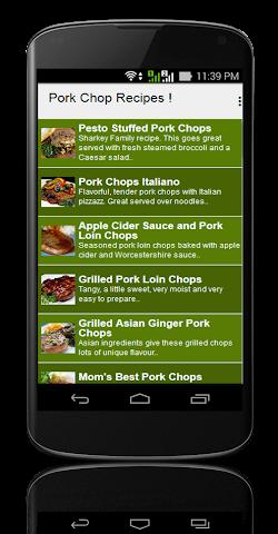 android Pork Chop Recipes ! Screenshot 1