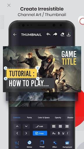 Ultimate Thumbnail Maker For Youtube: Banner Maker 1.4.4 screenshots 2