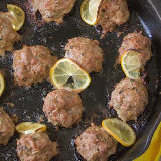 Greek-style Lamb Meatballs.
