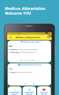 Download Medicos Abbreviation :Medical Short Form Offline For PC Windows and Mac apk screenshot 11