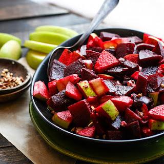 Healthy Marinated Beet and Apple Salad