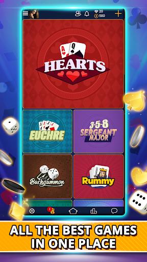 VIP Games: Hearts, Rummy, Yatzy, Dominoes, Crazy 8 apkmr screenshots 1