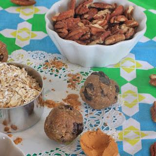 Cinnamon Raisin Maple Pecan Cookie Dough Balls