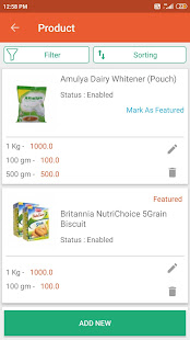 Download Egrocer- GroceryStores Order Management App For PC Windows and Mac apk screenshot 4