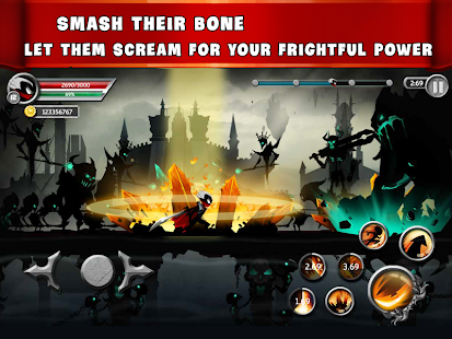 play Stickman Legends - Ninja Warriors: Shadow War on pc & mac