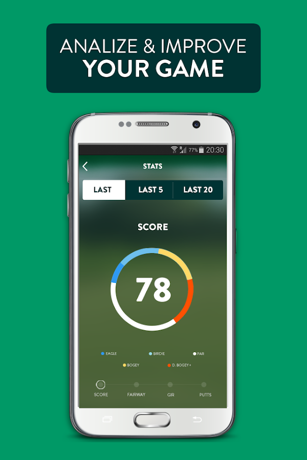Galf - Scorecard & Livescoring- screenshot