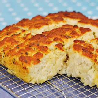 Garlic and Herb Butter Quick Bread.