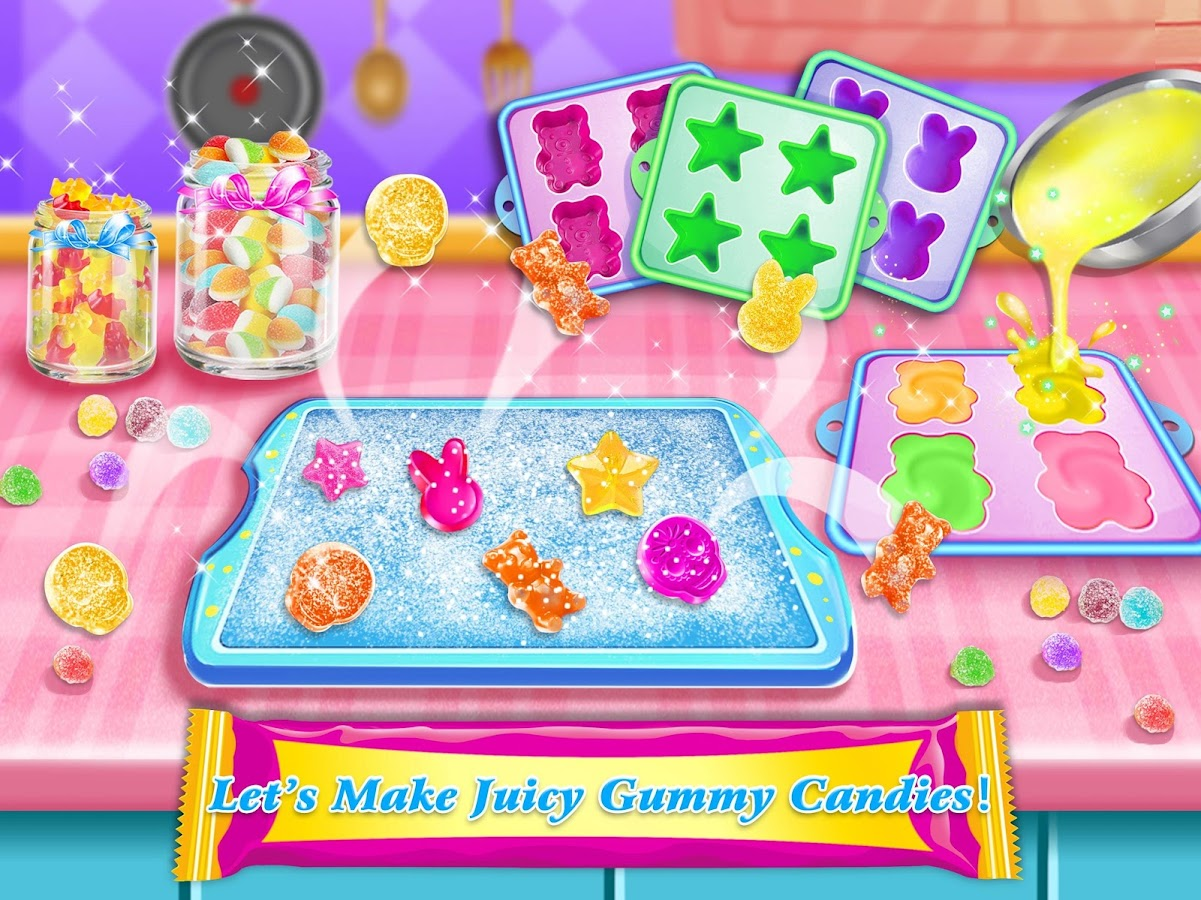 Sweet Candy Store! Food Maker- screenshot