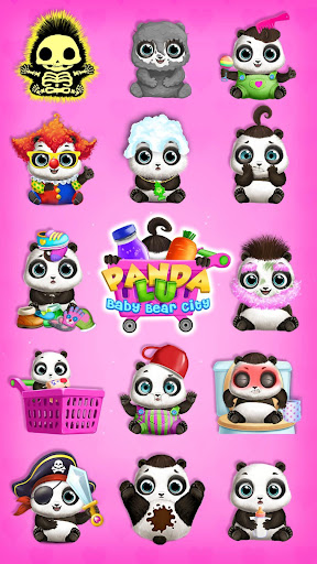 Panda Lu Baby Bear City - Pet Babysitting & Care 3.0.4 screenshots 3