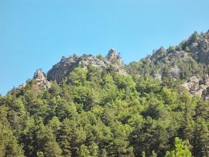 Photo: un relief spécifique aux montagnes calcaires : trés  acéré
