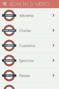 Rezar en el Metro Screenshot