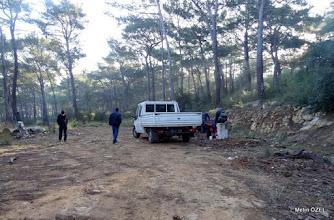 Photo: EFES-MİMAS (İYON) YOLU 5. Etabı İŞARETLEMESİ -  22.12.2015 (Tahtalı-Karacadağ Arası)