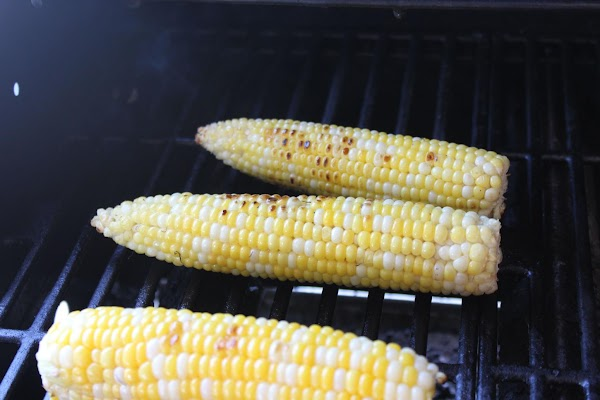 Roast your corn on the cob.