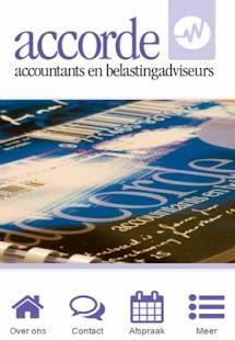 Accorde accountants - náhled