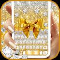 Golden Bow Keyboard Theme icon
