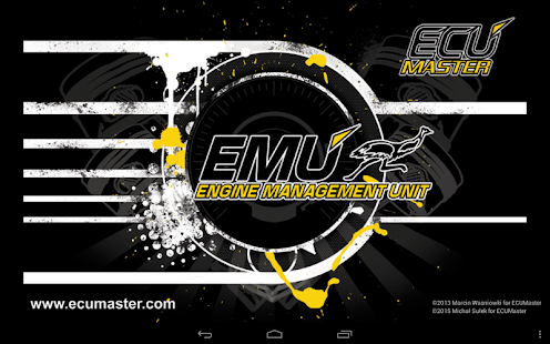 ECUMASTER ANDROID DASHBOARD- screenshot thumbnail