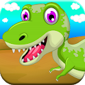 Dinosaur Games for Toddlers Kids Age 3 4 5 Free icon