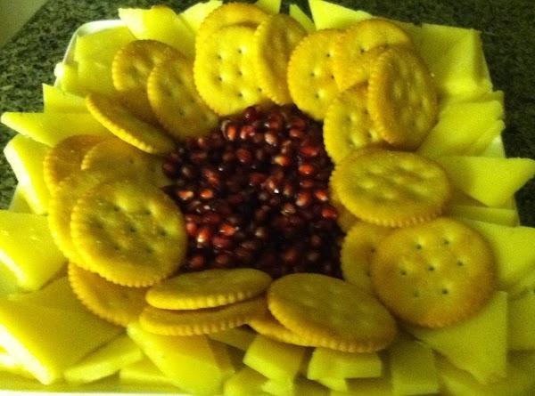 Fruit & Cheese Platter Recipe