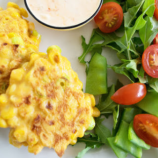 Herbed Sweet Corn Fritters.