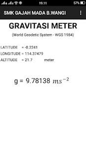 GravitasiMeter - náhled
