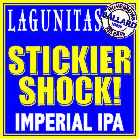 Logo of Lagunitas Stickier Shock