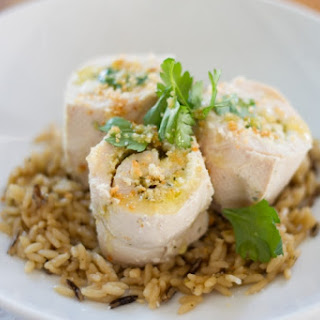 Sous Vide Stuffed Chicken Breast