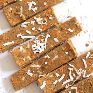 Carrot Cake Protein Bars (Vegan + Gluten-Free).