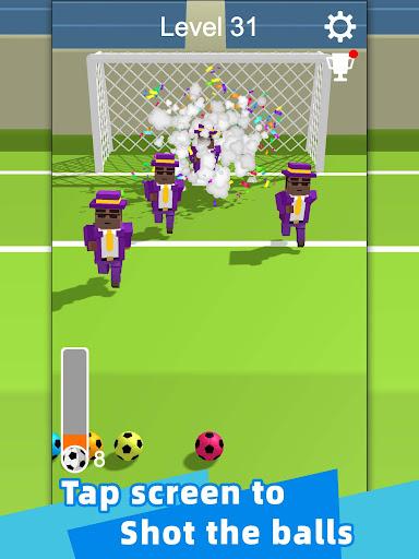 Straight Strike - 3D soccer shot game apkmr screenshots 6