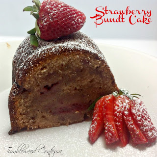 Strawberry Bundt Cake.
