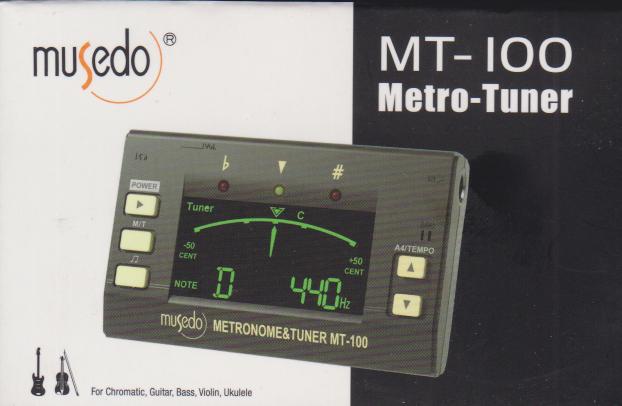 مترونوم و تیونر و دیاپازون MT 100