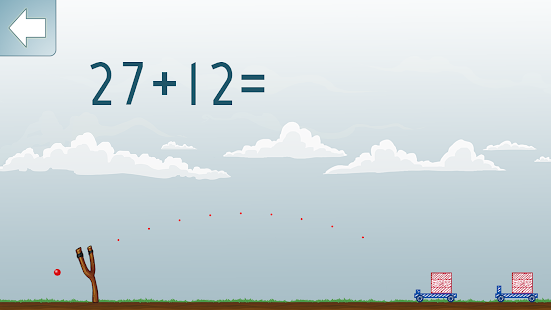 Addieren Mathe Spiel Screenshot