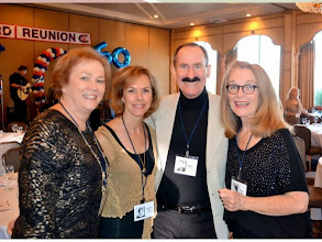 Photo: Kathy Houser Nolan, Linda Johnson Wise, Jerry Smithson, and Rolly Fanton