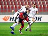 Antwerp-aanvoerde Faris Haroun baalde na de nederlaag tegen LASK