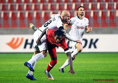 Faris Haroun déçu après la défaite contre LASK