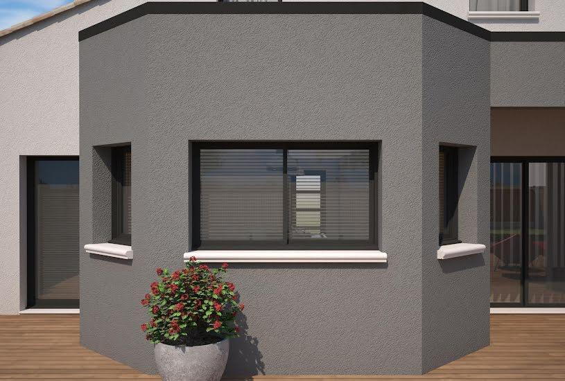 Vente Terrain + Maison - Terrain : 1900m² - Maison : 135m² à Poitiers (86000)