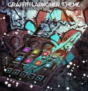 Graffiti Launcher Theme - náhled