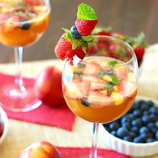 Sparkling Fruity Sangria