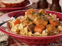 From Mr. Food. Old World Goulash Recipe