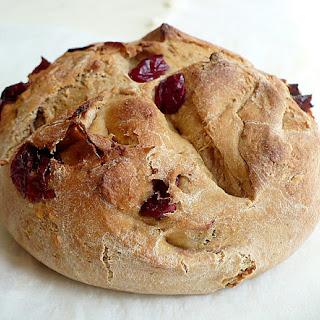 Whole Wheat Cranberry-Apricot Bread
