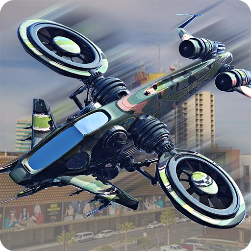 Drone Attack Shadow: Stealth Gunship Strike War game (apk) free download for Android/PC/Windows